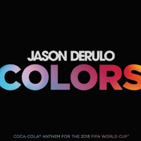 Jason Derulo's New Single COLORS to Serve as Coca-Cola Anthem for 2018 FIFA World Cup