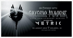 The Smashing Pumpkins Announce Special Guests For 30th Anniversary Performance in Holmdel, NJ On 8/2