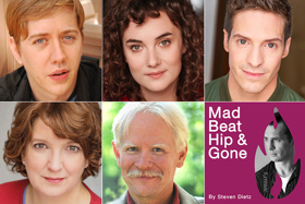 Cast Announced for Midwest Premiere of MAD BEAT HIP & GONE