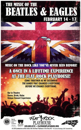 Flat Rock Playhouse Presents THE MUSIC OF THE BEATLES AND THE EAGLES