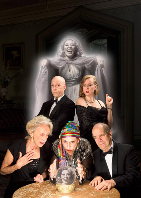 BWW Review: BLITHE SPIRIT at Vagabond Players - Community Theater at Its Best