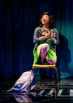 BWW Interview: Stephanie Hsu Brings the Heat and Heart to BE MORE CHILL
