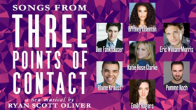 Fankhauser, Coleman, Clarke to Sing from THREE POINTS OF CONTACT at Feinstein's/54 Below