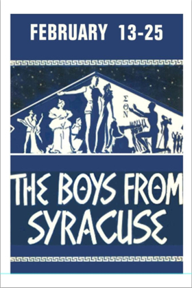 THE BOYS FROM SYRACUSE Begins Performances Tomorrow Off-Broadway