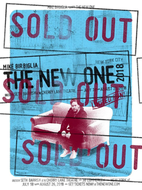 MIKE BIRBIGLIA: THE NEW ONE Begins Today at The Cherry Lane Theatre