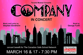 Toronto Musical Concerts Hosts Staged Reading of COMPANY