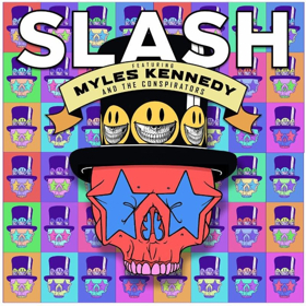 Slash Featuring Myles Kennedy and The Conspirators Release LIVING THE DREAM