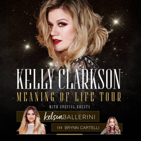 Kelly Clarkson Announces MEANING OF LIFE Tour