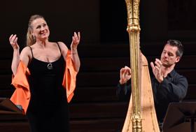 BWW Review: Diana Damrau Plays the Palace with de Maistre's Elegant Harp in Barcelona