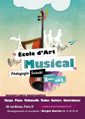Brooklyn School of Music Presents Exchange Concert with Suzuki String Students from Ecole d'Art Musical