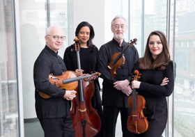 The Musco Center Will Host the Juilliard String Quartet This February