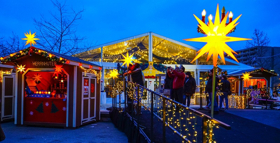 Christmas Village In Baltimore Sails Into Inner Harbor For 5th Anniversary Season