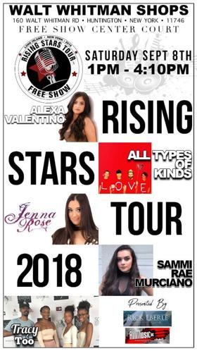 Rising Stars Mall Tour Returns to Walt Whitman Mall This Saturday