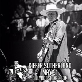 Kiefer Sutherland, Clay Walker Headed To Billy Bob's Texas In May