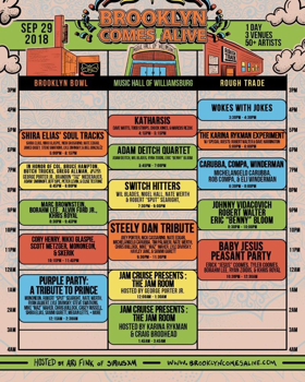 Brooklyn Comes Alive Releases 2018 Schedule