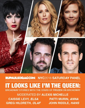 FROZEN Royalty Joins the Queens at DragCon NYC