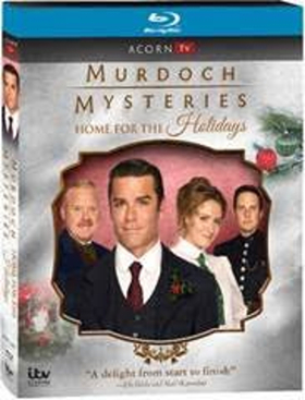 MURDOCH MYSTERIES: Home for the Holidays, DVD/Blu-ray Debut from Acorn TV on Today, 2018