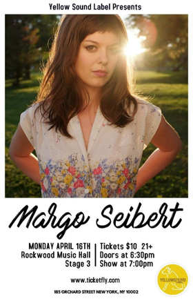 Margo Seibert to Return to Rockwood Music Hall