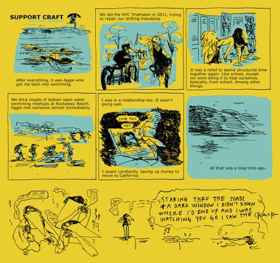 Read Bad Moves Comic by Sara Lautman, TELL NO ONE LP Out Friday