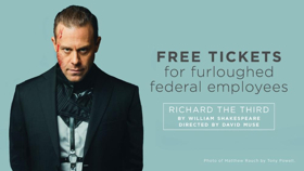 Shakespeare Theatre Company Offers Free Tickets To RICHARD THE THIRD To Government Employees