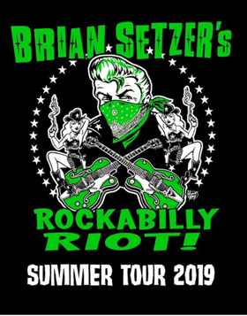 Brian Setzer Announces 'Rockabilly Riot!' U.S. Summer Tour Dates