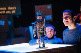 BWW Review: THE TIN SOLDIER, Festival Studio Theatre, Edinburgh