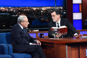 THE LATE SHOW WITH STEPHEN COLBERT is Number One in Late Night
