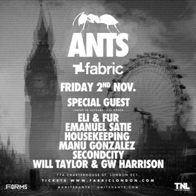 ANTS Make Fabric Debut on Friday November 2