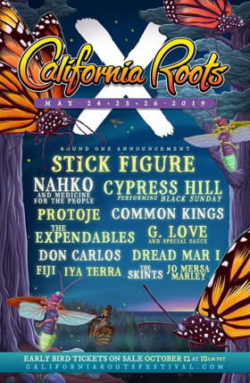 California Roots Music and Arts Festival Announces Round One Lineup