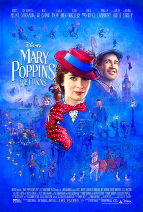 MARY POPPINS RETURNS is a Long Way from 1964