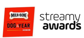 The Streamy Awards to Partner with Milk-Bone to Present the 'Milk-Bone Dog of the Year Honor'
