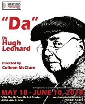WEST END PRODUCTIONS Presents Hugh Leonard's Tony Award Winning Play DA At N4th Opening