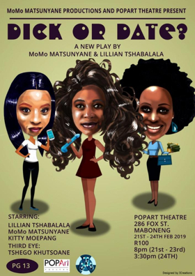 DICK OR DATE? Comes to POPArt Theatre