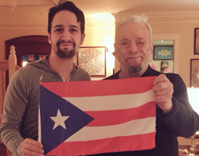 Genius x2: Lin-Manuel Miranda Chats with Stephen Sondheim About Inspiration, Collaboration & More!