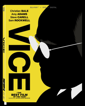 Adam McKay's Critically-Acclaimed VICE Arrives on Digital 3/12 and on Blu-ray & DVD 4/2