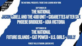 the national release daily schedules for there s no leaving new york