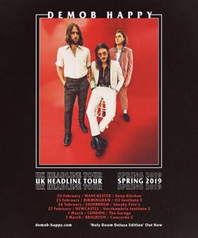 Demob Happy Announce UK Headline 2019 Tour & Release New HOLY DOOM DELUXE Album