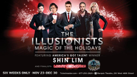 The Box Office is Now Open for the Return of THE ILLUSIONISTS