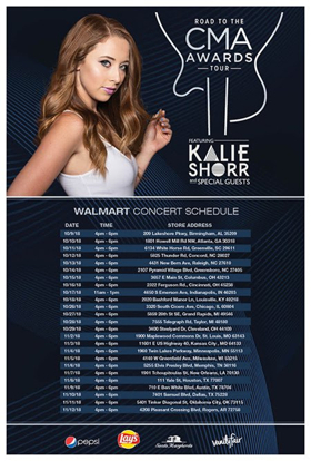 "Kalie Shorr To Embark On ""Road To The CMA Awards"" Tour"