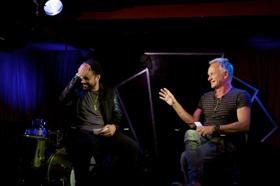 Sting and Shaggy Kick Off Season 4 of SPEAKEASY