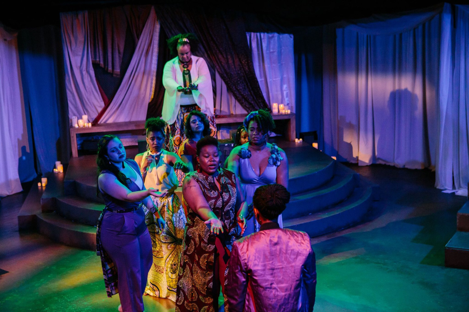 BWW Review: FOR COLORED GIRLS WHO HAVE CONSIDERED SUICIDE / WHEN THE RAINBOW IS ENUF at Open Stage Of Harrisburg