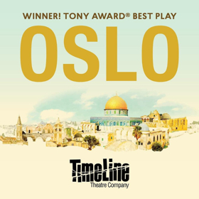 TimeLine To Present the Midwest Premiere of 2017 Tony Award Winner OSLO