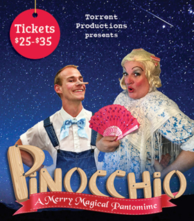 Daniel Greenberg Joins Cast of Torrent Productions' PINOCCHIO: A MERRY MAGICAL PANTOMIME