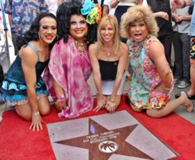 No Longer ONLY IN MY DREAMS! Debbie Gibson Receives A Star On The Palm Springs Walk Of Stars
