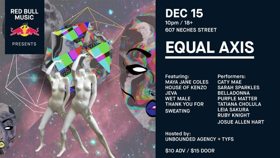 RED BULL MUSIC PRESENTS: EQUAL AXIS Heads to Austin