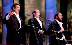 Three Tenors Christmas Concert Comes to Jaffrey's RST This Week