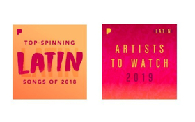 Pandora Names Top Spinning Latin Artists for 2018 and Latin Artists to Watch for 2019