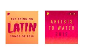 Pandora Names Top Spinning Latin Artists for 2018 and Latin Artists