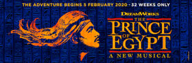 Book Tickets Now For New Musical THE PRINCE OF EGYPT in the West End!
