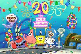 Nickelodeon Celebrates 20 Years of SPONGEBOB SQUAREPANTS with the 'Best Year Ever'